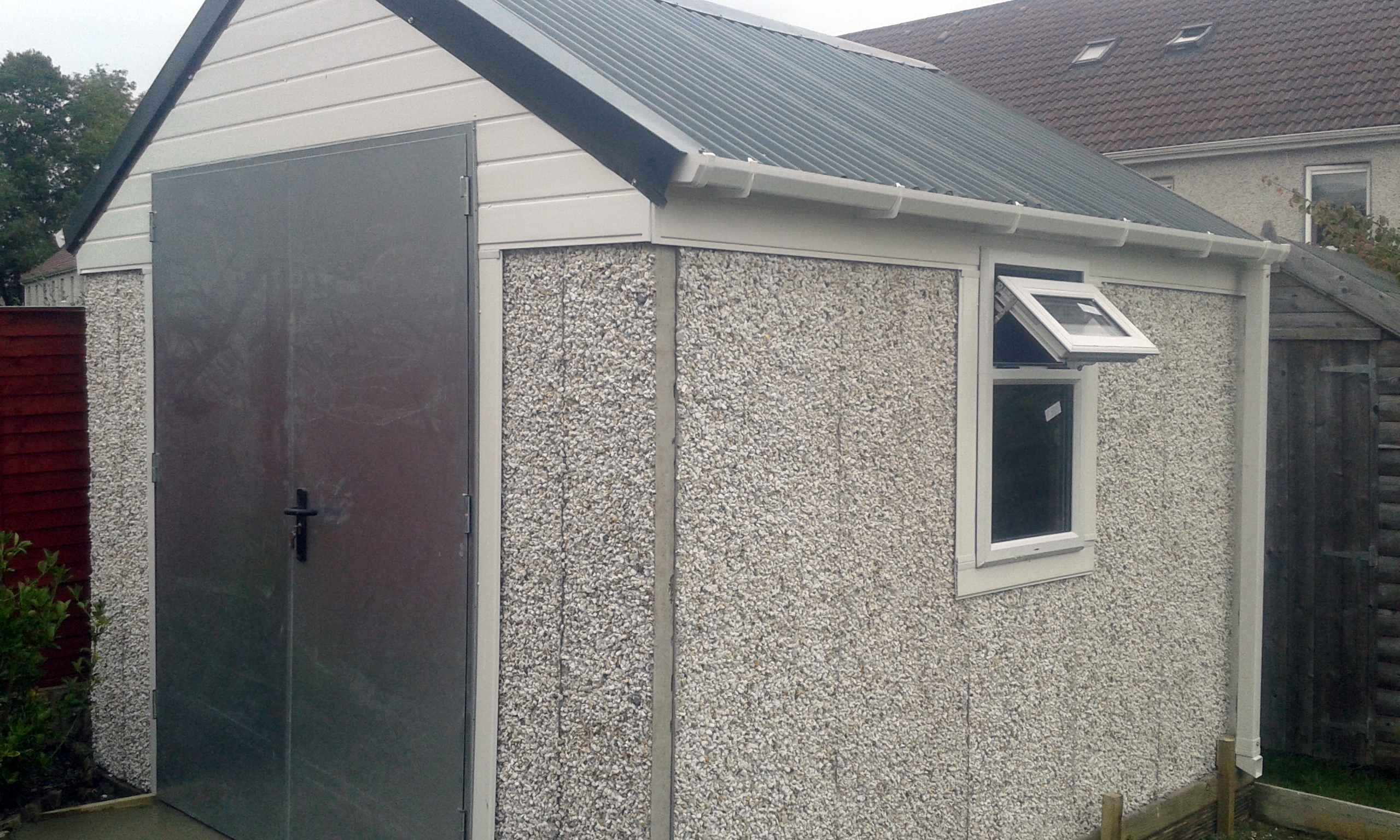 Concrete Shed Ireland Dublin Wicklow Wexford Sheds