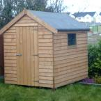 27 8x6 Rustic Shed Standard