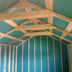 26 Timber Shed Interior Lined (Colour may vary)